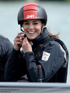 Duchess Kate: Kate Supports the 1851 Trust in McQueen Separates & Sailing on the Solent!
