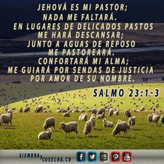 SALMO 23:1-3 SITIO WEB:  http://siembracr.wixsite.com/siembracr
