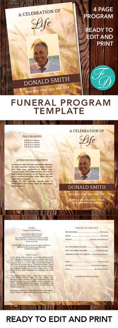 How to Make an Obituary Using Microsoft Word eHow Obituary - free obituary template