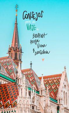 Consejos para un viaje a Praga, Viena, Bratislava y Budapest Rv Travel, Places To Travel, Travel Guide, Travel Destinations, Places To Visit, Travel Around The World, Places Around The World, Around The Worlds, Bratislava