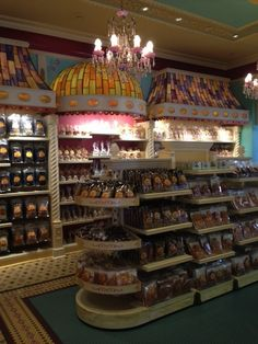 Candy shop at Disney. Love the nostalgic feel and the fabulous old-time outfits the employees wear. #candy #Disneyland