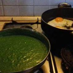 Spenótfőzelék (ahogy a gyermekeim szeretik) Palak Paneer, Ethnic Recipes, Food, Essen, Meals, Yemek, Eten