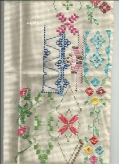 Bargello, Ribbon Embroidery, Blackwork, Cross Stitch, Quilts, Blanket, Hand Embroidery Stitches, Embroidery Stitches, Embroidery Sampler