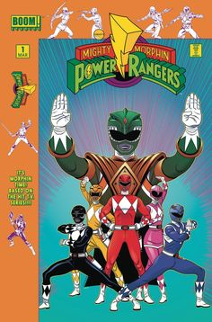 Mighty Morphin Power Rangers #1 Launch Party Variant