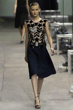 Spring 2008 Ready-to-wear. Stefano Pilati