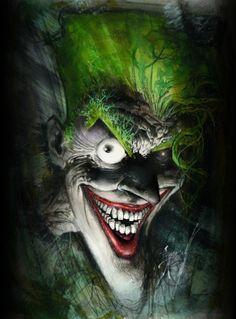 Batman: Secrets (The Joker) by Sam Kieth, artwork for #3
