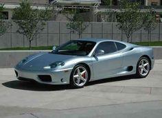 Ferrari 360 Modena Silver