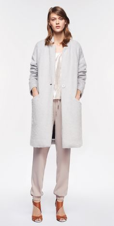 MAX&Co. AW 2015 - Knitcoat CONTRADA / Top PAESE / Jaggers DADAISTA / Sandals ACCETTO