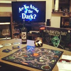 are you afraid of the dark? Party!
