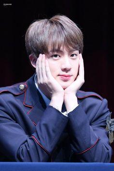 Jin and Namjoon go to the same school. Jin hates Namjoon and he knows that Namjoon hates him back. Jimin Jungkook, Bts Jin, Jin Kim, Yoongi, Bts Bangtan Boy, Bts Aegyo, Seokjin, Kim Namjoon, Kim Taehyung