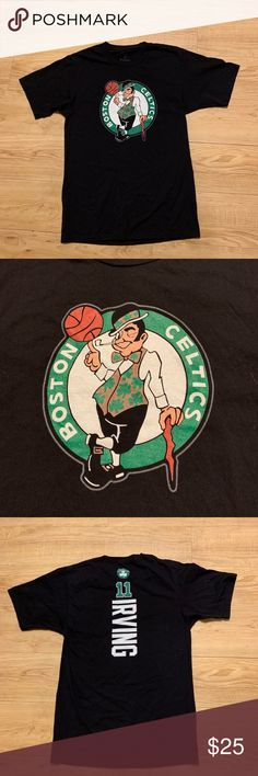 "BOSTON CELTICS ""IRVING""TEE Boston Celtics logo tee. 11 IRVING down the back Fanatics Shirts Tees - Short Sleeve"