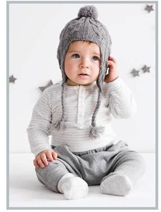 Baby boy fashion - we need this hat!