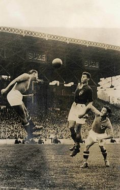 Football June 1938 World Cup Finals Colombes Stadium Paris France Final Italy 4 v Hungary 2 An aerial battle between Italian and Hungarian. Somewhere In Time, World Cup Final, Can Run, Fifa World Cup, Paris France, Italy, History, Hungary, Battle