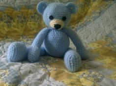 Free bears Crochet pattern by A Beautiful Nightmare