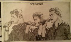 Restless Road sketch of them performing Every Breath You Take with Jeff Gutt on the Xfactor. Zach Beeken, Colton Pack, Andrew Scholz. #RestlessRoad #RestlessRdMusic #Sketch #ZachBeeken #ColtonPack #AndrewScholz #xfactor #EveryBreathYouTake #JeffGutt Restless Road Fan Art. RRFanArt Emily Greeson