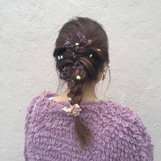 Image discovered by 𝕤𝕡𝕖𝕖𝕕 ・゚✧*:・゚✧. Find images and videos about fashion, aesthetic and clothes on We Heart It - the app to get lost in what you love. Eyes Without A Face, Hair Locks, Aesthetic Hair, Messy Hairstyles, Dusty Pink, Hair And Nails, Braids, Hair Beauty, Hair Styles