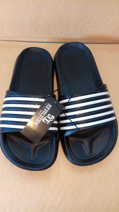 cd09e3e45b8c Baby Shoes · OT Revolutions Black white Sandals size L-1 Bigger boys  slip-ons