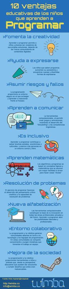 10 ventajas educativas de aprender a programar