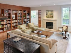 These 10 Home Libraries Are For People Who Really, Really Love Their Books (PHOTOS)