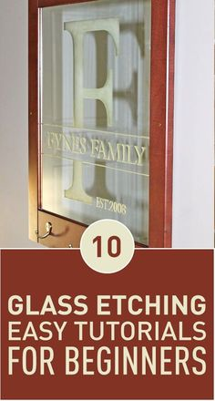 Glass etching can add an artistic touch to regular glassware and make it look fancy. Whether it's a drink glass, a vase or even a door, glass etching can turn anything glass into a piece of art easily. You only need your imagination and an itching cream.