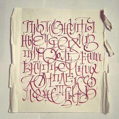 "Calligraphi.ca - ""Temporary success in overcoming of inner complexes, perhaps"" in cyrillic - Pilot Parallel Pen -Misha Karagezyan"