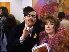 """60s, LSD-meets-Art Nouveau in the film """"the bliss of mrs. blossom"""""""