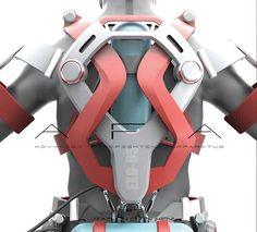 A.F.A. - Powered Exoskeleton Suit for Firefighter by Ken Chen - Strapped over…
