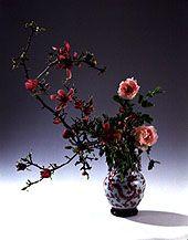 ikebana (flower arranging)