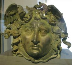 A Roman gorgon from Germany