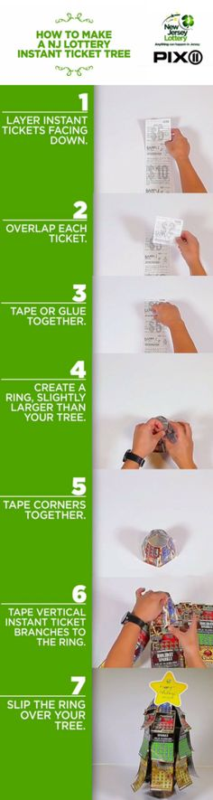 CLICK TO WATCH VIDEO -- Need a great idea for a centerpiece for your holiday gathering or for your next fundraiser? New Jersey Lottery's Erica Young tells you how to make a Lottery Ticket Tree out of New Jersey Lottery scratch off tickets.