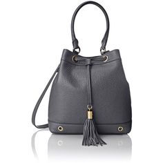 MILLY Astor Bucket Convertible Bag ($198) ❤ liked on Polyvore featuring bags, handbags, shoulder bags, drawstring purse, convertible shoulder bag, drawstring shoulder bag, bucket shoulder bag and convertible purse