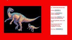 Escuela infantil castillo de Blanca: dinosaurios