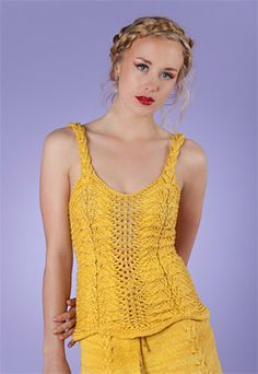Army of Knitters Sunflowers Cami PDF Download