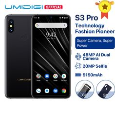 Cheap Cellphones, Buy Quality Cellphones & Telecommunications Directly from China Suppliers:UMIDIGI PRO Android Super Camera Big Power Bluetooth, Fingerprint Recognition, Polish Language, Smartphone Price, Cheap Mobile, Display Resolution, Android 9, Types Of Cameras, Gps Navigation