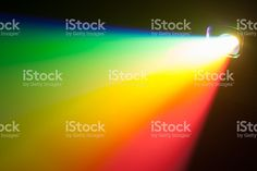 rgb spectrum light of projector royalty-free stock photo