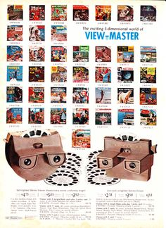 The Whole World of View Master.