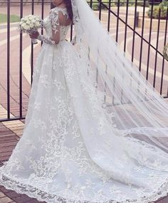 Magníficos vestidos de novia...