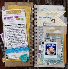 mylittleblessings: Gratitude Mini Album  This album is so stinking cute!