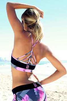 sport bra beach | Workout Clothes | Fitness Apprel | Workout tops @ http://www.FitnessApparelExpress.com