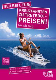 Neu bei L'TUR: Kreuzfahrten zu Pedalo-Preisen! #Lastminute #LTUR #TUI