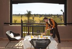 Royal Palm Marrakech - Breakfast with a view Beachcomber Hotels #Marrakech