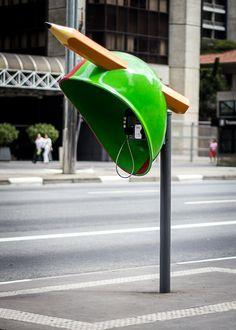 Arte nos orelhões de São Paulo