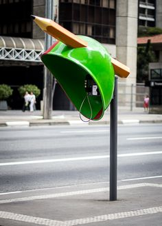 """Call Parade"" public art project turns Sao Paolo's phone booths into something people want to interact with (and just maybe won't vandalize!). [GM]"