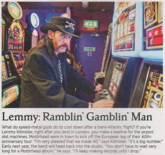 Aww!But the album thing isn't right, they just did a new one! Lemmy said they'll do one in 2017!