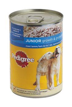 Koiran purkkiruuat ym. märkäruuat, ne ei maistu Nyytille.