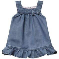 Come and read about the latest Tommy Hilfiger collections and choose your favorite line! Toddler Fashion, Kids Fashion, Fashion Outfits, Little Girl Dresses, Girls Dresses, Denim Ideas, Applique Dress, Dress Patterns, Baby Dress