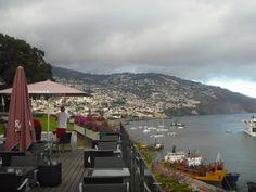 Vista sobre baia do Funchal