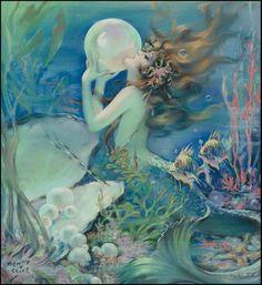 Mermaid with Pearls....