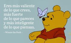 Winnie the Pooh Frases Disney, Disney Quotes, Inspirational Phrases, Motivational Phrases, Alan Alexander Milne, Disney Maternity, Citations Film, Disney Pixar, Disney Characters