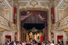 Theater at the Yusupov Palace in St Petersburg, Russia. Yusupov Palace, Saint Petersburg, Russia. One of two surviving St. Petersburg residences of t Yusupov family
